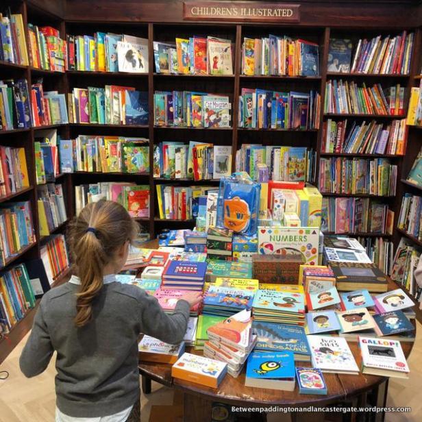 daunt books,camden, london with kids, londres con niños